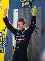 Jul 30, 2017; Sonoma, CA, USA; NHRA top fuel driver Clay Millican during the Sonoma Nationals at Sonoma Raceway. Mandatory Credit: Mark J. Rebilas-USA TODAY Sports