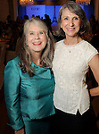 Martha Blecher and Kathy Johnson at the Junior League of Houston's Opening Style Show & Luncheon Thursday Sept. 10,2015.(Dave Rossman photo)