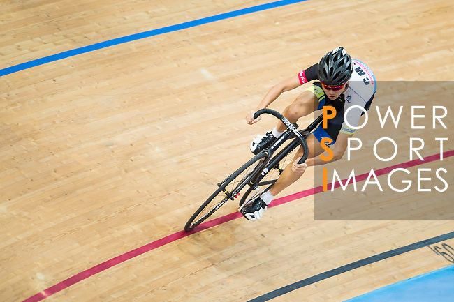 Chiu Lok Ngan of CMS in action during the Open Qualifying (200M Flying Start) at the Hong Kong Track Cycling Race 2017 Series 5 on 18 February 2017 at the Hong Kong Velodrome in Hong Kong, China. Photo by Marcio Rodrigo Machado / Power Sport Images