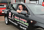 Welsh Cycling team Coach Darren Tudor. ..Seat sponsorship car handover to the Welsh Cycling Union for the upcoming Commonwealth Games. .Date: Fri 14/05/2010,  .© Ian Cook IJC Photography, 07599826381, iancook@ijcphotography.co.uk,  www.ijcphotography.co.uk, www.ijcsports.co.uk.