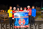 Purcell's Annual Christmas lights were turned on at Sunhill in Killorglin on Sunday evening raising funds for Killorglin Recovery Haven & Killorglin Hospice<br /> L-R Catherine O'Donoghue (Recovery Haven), Denise Purcell, Caitlin Cahillane. Naoishe Purcell, Melissa Cahillane, Joe Purcell, Kay Woods (Killorglin Hospice)