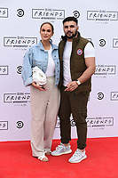 Vicky Pattinson and Ercan Ram<br /> arriving for FriendsFest 2021, Clapham Common, London.<br /> <br /> ©Ash Knotek  D3567 24/06/2021