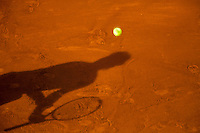 03-06-13, Tennis, France, Paris, Roland Garros,  Shadow