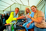 Maura Sullivan, Michelle Greaney and Ann Kelliher pictured in Quanes, Blennerville on Bank Holiday Monday.