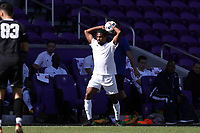 Orlando, Florida - Monday January 15, 2018: Carter Manley. Match Day 2 of the 2018 adidas MLS Player Combine was held Orlando City Stadium.