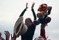 Highfield Festival 2014 auf der Magdeborner Halbinsel am Störmthaler See.  Foto: aif / Norman Rembarz<br /> <br /> Jegliche kommerzielle wie redaktionelle Nutzung ist honorar- und mehrwertsteuerpflichtig! Persönlichkeitsrechte sind zu wahren. Es wird keine Haftung übernommen bei Verletzung von Rechten Dritter. Autoren-Nennung gem. §13 UrhGes. wird verlangt. Weitergabe an Dritte nur nach  vorheriger Absprache. Online-Nutzung ist separat kostenpflichtig.