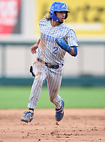 Braddock Bulldogs Kader Rabagh (2) during the 42nd Annual FACA All-Star Baseball Classic on June 6, 2021 at Joker Marchant Stadium in Lakeland, Florida.  (Mike Janes/Four Seam Images)