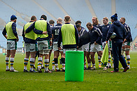 6th February 2021; Ricoh Arena, Coventry, West Midlands, England; English Premiership Rugby, Wasps versus Northampton Saints; Northampton Saints players warm up before the game