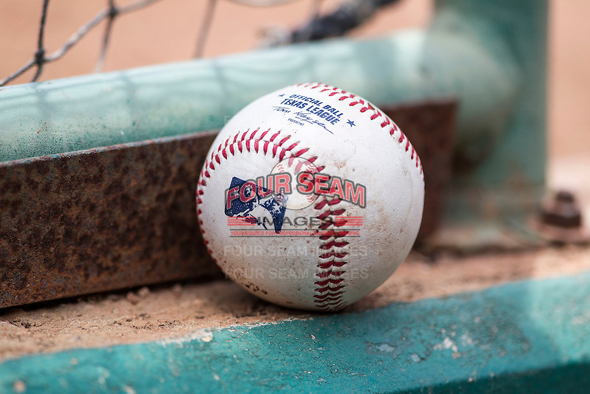 Texas League baseballs on June 28, 2015 at Nelson Wolff Stadium in San Antonio, Texas. (Andrew Woolley/Four Seam Images)