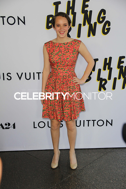 LOS ANGELES, CA - JUNE 04: Georgia Rock arrives at the 'The Bling Ring' - Los Angeles Premiere at Directors Guild Of America on June 4, 2013 in Los Angeles, California. (Photo by Celebrity Monitor)