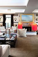beach style living room