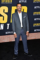 "LOS ANGELES, CA: 27, 2020: Brandon Scales at the world premiere of ""Spenser Confidential"" at the Regency Village Theatre.<br /> Picture: Paul Smith/Featureflash"