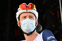 5th September 2020, Grand Colombier, France;  THEUNS Edward (BEL) of TREK - SEGAFREDO during stage 8 of the 107th edition of the 2020 Tour de France cycling race, a stage of 140 kms with start in Cazeres-sur-Garonne and finish in Loudenvielle