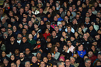 Fans in the grandstand during the Bledisloe Cup rugby match between the New Zealand All Blacks and Australia Wallabies at Eden Park in Auckland, New Zealand on Saturday, 7 August 2021. Photo: Dave Lintott / lintottphoto.co.nz