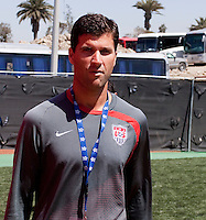 Assistant Coach: Paul Grafer. The Under-17 US Men's National Team defeated Cuba 5-0 at the 2009 CONCACAF Under-17 Championship April 21, 2009 in Tijuana, Mexico.