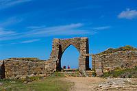 Grosnez Castle im Nordosten, Insel Jersey, Kanalinseln