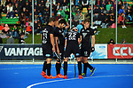 The Black Sticks prepare to take a penalty corner during the Sentinel Homes Trans Tasman Series hockey match between the New Zealand Black Sticks Men and the Australian Kookaburras at Massey University Hockey Turf in Palmerston North, New Zealand on Sunday, 30 May 2021. Photo: Dave Lintott / lintottphoto.co.nz