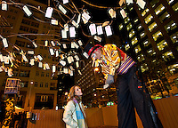 A performer during the First Night Charlotte 2009 celebration in Uptown Charlotte, NC. First Night Charlotte is the most exciting, imaginative, uplifting cultural event of the year featuring an alcohol-free activities for the entire family.