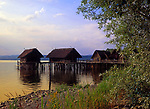 DEU, Deutschland, Baden-Wuerttemberg, Bodensee, Unter-Uhldingen: Pfahlbauten Museum | DEU, Germany, Baden-Wuerttemberg, Lake Constance, Unter-Uhldingen: pile dwelling museum