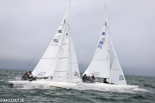 13 Dragons are racing at the Royal St. George Yacht Club hosted East Coast Championships