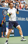 Andy Murray (GBR) wins  at the US Open being played on September  3, 2016 at Billy Jean King National Tennis Center in Flushing, Queens, New York.  ©Leslie Billman/EQ
