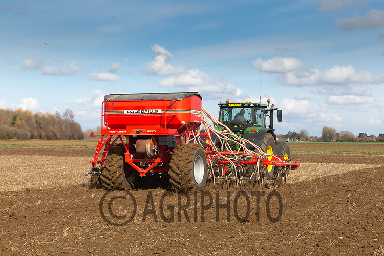 24-3-2021 Drilling Spring cereals in Lincolnshire <br /> ©Tim Scrivener Photographer 07850 303986<br />      ....Covering Agriculture In The UK....