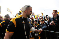 Photo: Richard Lane/Richard Lane Photography. Wasps v Leicester Tigers. Aviva Premiership. 08/01/2017. Wasps' James Haskell.