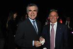 MAURO MORETTI E PIER FRANCESCO GUARGUAGLINI<br /> FESTA RIUNIFICAZIONE TEDESCA A VILLA ALMONE ROMA OTTOBRE 2011