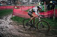 cx world champion Ceylin del Carmen Alvarado (NED/Alpecin-Fenix)<br /> <br /> UCI cyclo-cross World Cup Dendermonde 2020 (BEL)<br /> Women's Race<br /> <br /> ©kramon