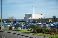 Thursday 02 March 2017<br /> Pictured: general View of the Ford Factory in Bridgend <br /> Re: Ford expects to cut more than 1,100 jobs from its Bridgend plant by 2021, casting doubt on the future of the Welsh engine facility.