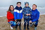 Geraldine, Kaelan, Bobby and John Dee enjoying the afternoon on Ballybunion beach on Sunday.