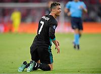25.04.2018, Football UEFA Champions League 2017/2018, semi final 1st leg, FC Bayern Muenchen - Real Madrid, in Allianzarena Muenchen. Christiano Ronaldo (Real Madrid)  *** Local Caption *** © pixathlon<br /> <br /> Contact: +49-40-22 63 02 60 , info@pixathlon.de
