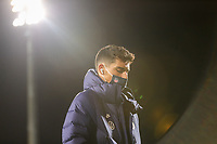WIENER NEUSTADT, AUSTRIA - NOVEMBER 16: Matt Miazga #3 of the United States men's national team before a game between Panama and USMNT at Stadion Wiener Neustadt on November 16, 2020 in Wiener Neustadt, Austria.