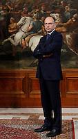 Il Presidente del Consiglio Enrico Letta si prepara ad accogliere il Segretario di Stato degli Stati Uniti a Palazzo Chigi, Roma, 23 ottobre 2013<br /> Italian Premier Enrico Letta prepares to welcome U.S. Secretary of State at Chigi Palace, Rome 23 October 2013.<br /> UPDATE IMAGES PRESS/Isabella Bonotto