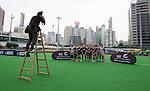 Photo time at the Hong Kong Football Club. Hong Kong. 25 March 2015. Photo: Marc Weakley/allblacks.com
