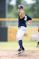 August 13, 2008: Mike Solbach (58) of the GCL Yankees.  Photo by: Chris Proctor/Four Seam Images