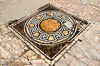 Cyrene, Shahat, Libya.  Mosaic, House of Jason Magnus, High Priest of the Temple of Apollo, 2nd. Century A.D.