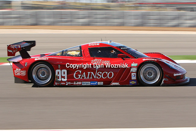 Jon Fogarty (99), Driver of GAINSCO/ Bob Stallings Racing Corvette in action during the Grand Am of the Americas, Rolex race at the Circuit of the Americas race track in Austin,Texas...