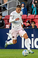 WASHINGTON, DC - MARCH 07: Ben Sweat #22 of Inter Miami moves forward during a game between Inter Miami CF and D.C. United at Audi Field on March 07, 2020 in Washington, DC.