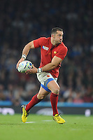 Scott Spedding of France in action during Match 5 of the Rugby World Cup 2015 between France and Italy - 19/09/2015 - Twickenham Stadium, London <br /> Mandatory Credit: Rob Munro/Stewart Communications