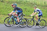 22nd May 2021, Monte Zoncolan, Italy; Giro d'Italia, Tour of Italy, route stage 14, Cittadella to Monte Zoncolan; 116 GAVAZZI Francesco ITA? 228 ULISSI Diego ITA? 136 PETILLI Simone ITA