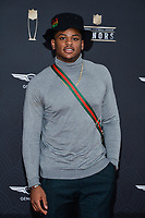 MIAMI, FL - FEBRUARY 1: Devin Bush Jr. attends the 2020 NFL Honors at the Ziff Ballet Opera House during Super Bowl LIV week on February 1, 2020 in Miami, Florida. (Photo by Anthony Behar/Fox Sports/PictureGroup)