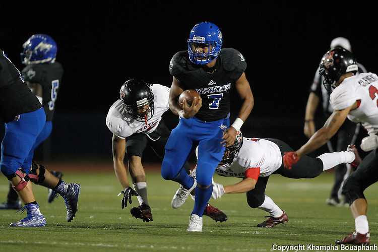 Boswell beats Wichita Falls 31-3 in district 5-5A high school football in Fort Worth on Friday, October 23, 2015. (photo by Khampha Bouaphanh)