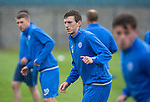 St Johnstone Training…22.07.16<br />Blair Alston pictured during training this morning at McDiarmid Park ahead of tomorrows Betfred Cup game against his former team Falkirk.<br />Picture by Graeme Hart.<br />Copyright Perthshire Picture Agency<br />Tel: 01738 623350  Mobile: 07990 594431