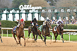 March 13, 2021: Silver State #5 , ridden by Ricardo Santana, Jr. wins the Essex Handicap for trainer Steven M. Asmussen at Oaklawn Park in Hot Springs,  Arkansas. Ted McClenning/Eclipse Sportswire/CSM