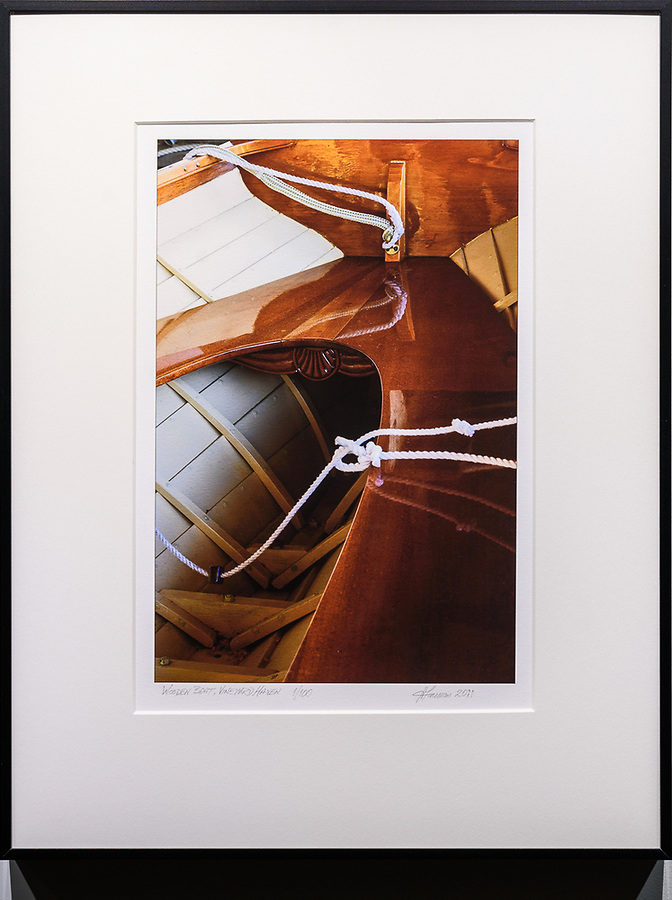 """Framed Size 18""""h x 14""""w  $225<br /> Matte Black Nielsen 91<br />  with acrylic glazing"""