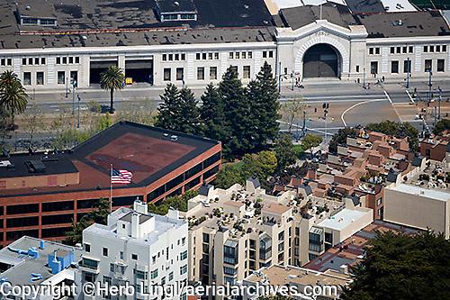 aerial photograph Pier 29 San Francisco, California