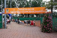 13-08-11, Tennis, Hillegom, Nationale Jeugd Kampioenschappen, NJK, Welkom banner