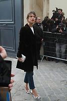Jeanne Damas - ArrivÈes au dÈfilÈ 'Dior' au MusÈe Rodin lors de la Fashion Week de Paris, le 03/03/2017. # LES PEOPLE ARRIVENT AU DEFILE 'DIOR' - FASHION WEEK DE PARIS