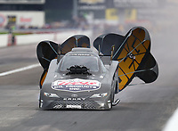 Aug 31, 2019; Clermont, IN, USA; NHRA funny car driver Ray Martin during qualifying for the US Nationals at Lucas Oil Raceway. Mandatory Credit: Mark J. Rebilas-USA TODAY Sports